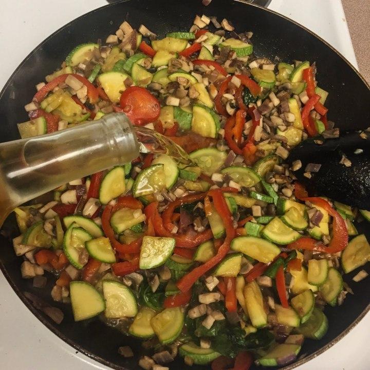 Easy meatless lasagnarecipe