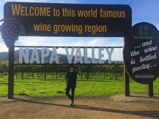 Wine o'clock weekend in Napa Valley