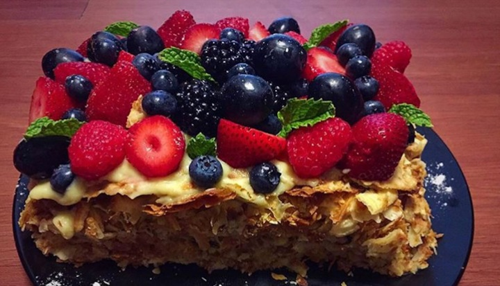 Eat cake first! Quick and easy to make Napoleon cakerecipe