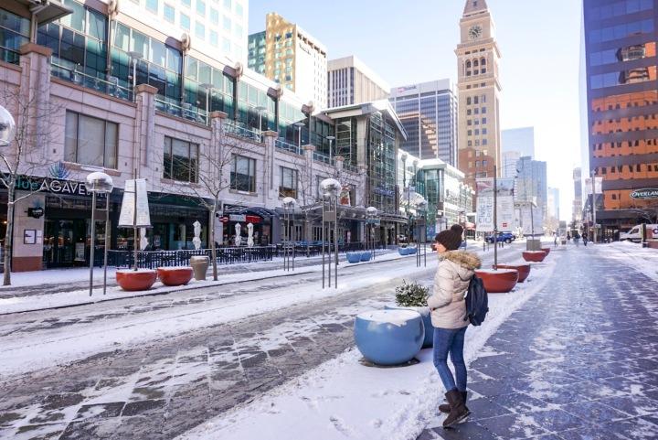 White Christmas in Denver: last minute adventure of 2017